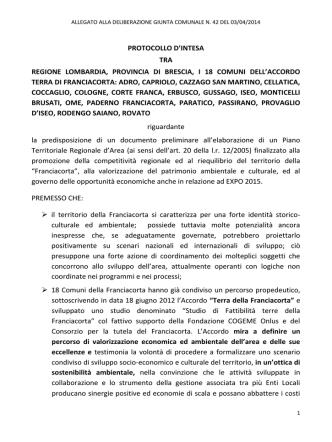 delibere/giunta2014/ALLEGATI GC42/42 allegato Protocollo