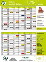 Abfuhrplan 2014