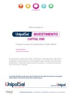 CAPITAL ONE - Unipol Assicurazioni