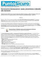 Stampa - Sovraccarico biomeccanico: cause