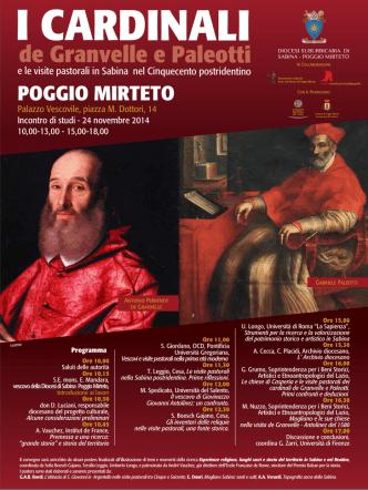 cardinali de Granvelle e Paleotti