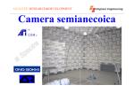 Camera semianecoica - Engines Engineering