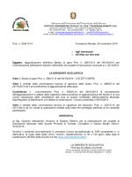 Decreto aggiudicazione definitiva incarico esperto esterno progetti