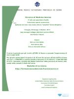 Corso ECM - Medicina Internahot! - Ordine Dei Medici Veterinari