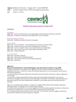 Bollettino Informativo 17 Giugno 2014