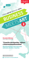 Programma 2013-2014 - BMA Business Meets Art