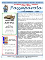 Passaparola 16 febbraio 2014