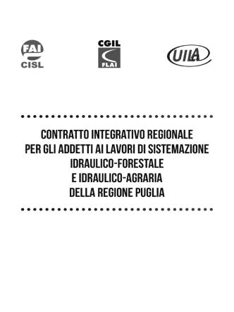 contratto integrativo regionale per gli addetti ai lavori di