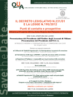 Locandina evento - Studio legale Acampora