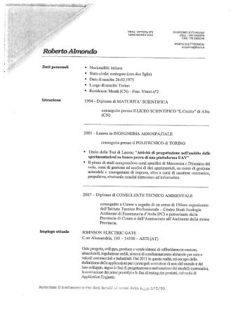 Almondo Roberto - Acquedotto Langhe e Alpi Cuneesi SpA