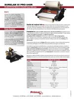 Download - PRIMA, specialisti nel finishing della stampa digitale