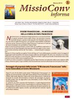 MissioConv Informa n. 5 - Centro Missionario Francescano Onlus