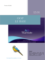12.01 OOP LE BASI - Andrea Zoccheddu