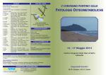 Brochure corso patologie osteometaboliche