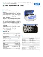 TDB-120, Blocco termostato a secco - Opuscolo (PDF)