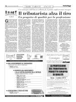 Italia Oggi del 25/09/2014 - Associazione Nazionale Consulenti