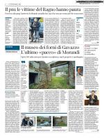 Morandi e i fondi per il forno di Gavasso
