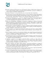 Pubblicazioni di Anna Zimbone - Università degli Studi di Catania