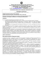 Relazione Programma Annuale 2014