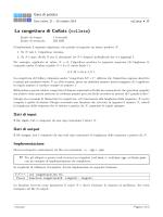 La congettura di Collatz (collatz)