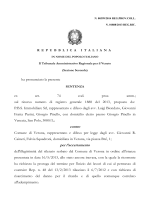 TAR Veneto n. 399 del 2014