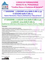 locandina corso formazione Panizzo con programma def