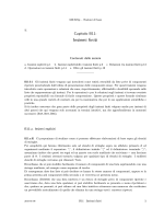 Insiemi finiti - CNR - Istituto di Matematica Applicata e Tecnologie