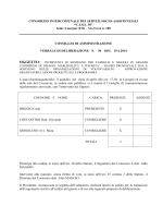 CONSORZIO INTERCOMUNALE DEI SERVIZI SOCIO