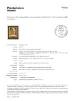 San Pio X - Filatelia