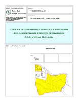 Relazione compatibilita - Urbanistica Tolentino
