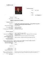 Curriculum Vitae Arch. Cosimo Netti