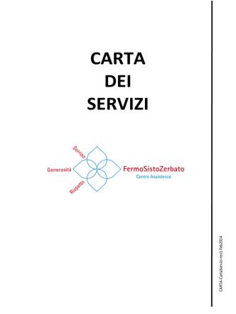 CARTA DEI SERVIZI - Centro Assistenza Fermo Sisto Zerbato