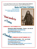 Manifesto Celebrazioni - Arcidiocesi di Torino