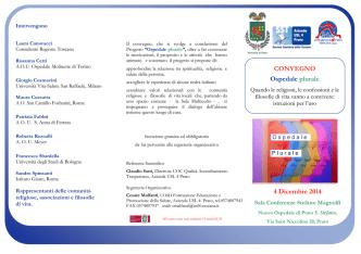 brochure ospedale plurale 4 dicembre 2014