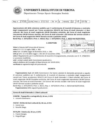 conferimento insegnamenti docenti esterni (pdf, it, 422 KB, 9/25/14)