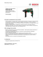 PSB 650 RE