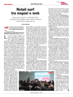"Cross canalità: ""Retail surf tra negozi e web"