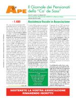 Numero febbraio 2014 - Associazione Pensionati Cariplo