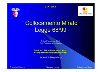 (Microsoft PowerPoint - Semol 16 maggio 2014 - legge 68