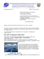 GymCampus Federali estivi GAM-AER 2014