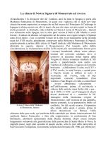 La chiesa di Nostra Signora di Monserrato ad Aversa
