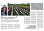 Soluzioni ecosostenibili per il lavoro agricolo