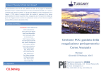 Programma POC - Tuscany Critical Care Group