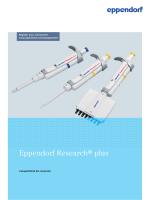 Eppendorf Research® plus