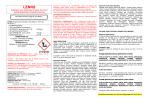 Etichetta ministeriale CLP