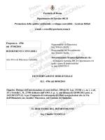 Provincia di Roma Dipartimento 04 Servizio 00UD