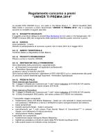 """Regolamento concorso a premi """"UNIVER TI"""