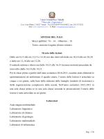 Sintesi del P.O.F. - Liceo Scientifico Copernico di Torino