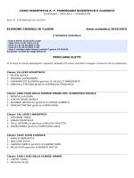 2014000005-Proclamazione eletti nei Consigli di Classe a.s.2014
