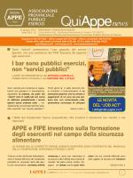 notiziario QuiAPPE
